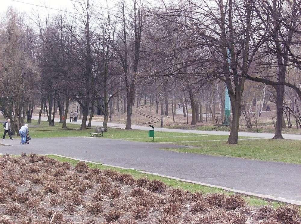 marysin dwór park chorzowski